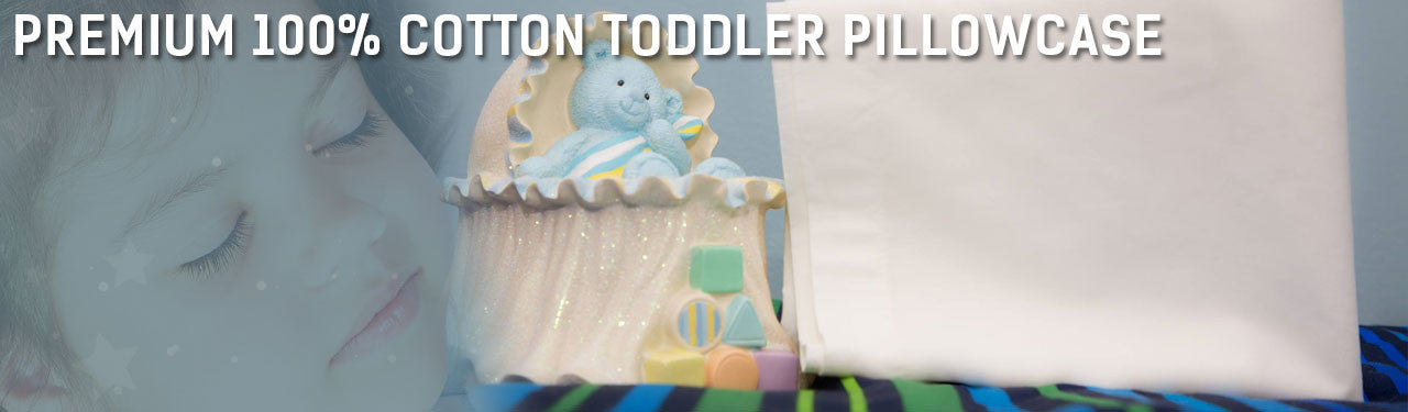 Organic Cotton Toddler Pillowcase