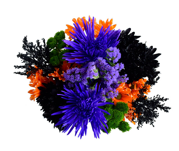 Halloween 12 stem Mixed bouquet