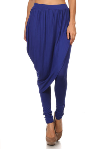 Blue Harem Skirt Pants