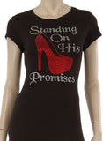 Standing On His Promises T-Shirt (Runs Small) - Shop for You Boutique