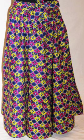 Long Purple Maxi Skirt - One Size Fits Most