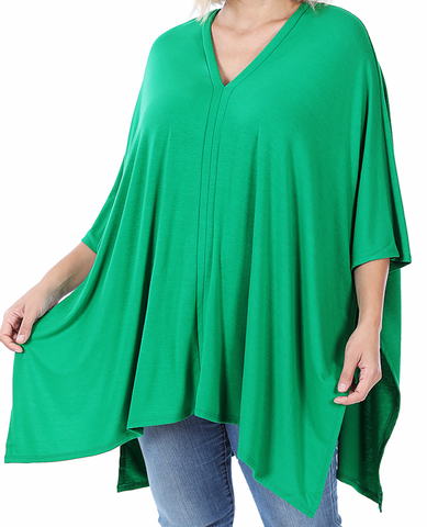 Green Poncho & Legging Set