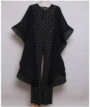 Plus Black and White Polka Dot Jumpsuit