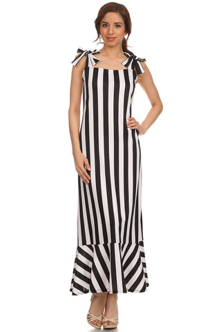 Mermaid Stripe Maxi