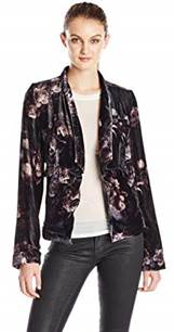 Grape Floral Pants Jacket