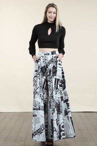 Magazine Pants Set