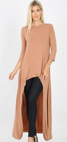 Neutral High Low Tunic & Legging Set