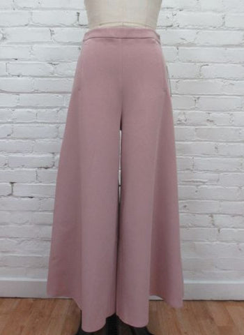 Blush (Pink) Wide Gaucho Pants