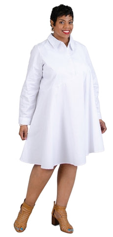 Shirt Dress - Multiple Colors & Sizes