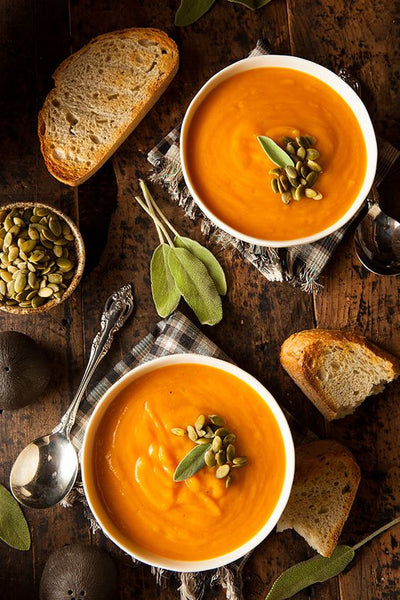 Pumpkin and Red Lentil Soup from Beach Body