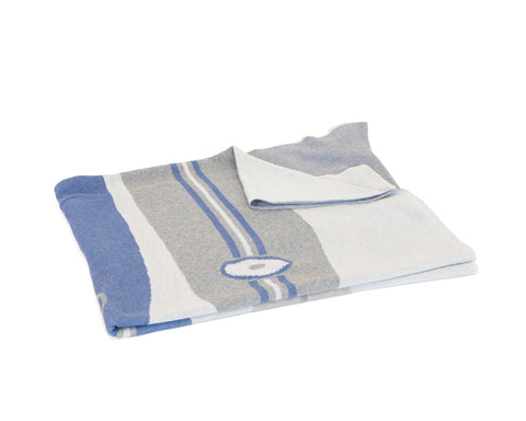 Surf Boards Coastal Throw (Natural, Grey, Indigo & Navy)