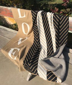 The Everyday Chevron Love Blanket