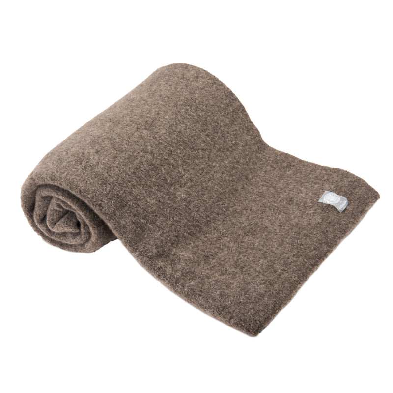 Wool Yak Wrap in Solid Taupe