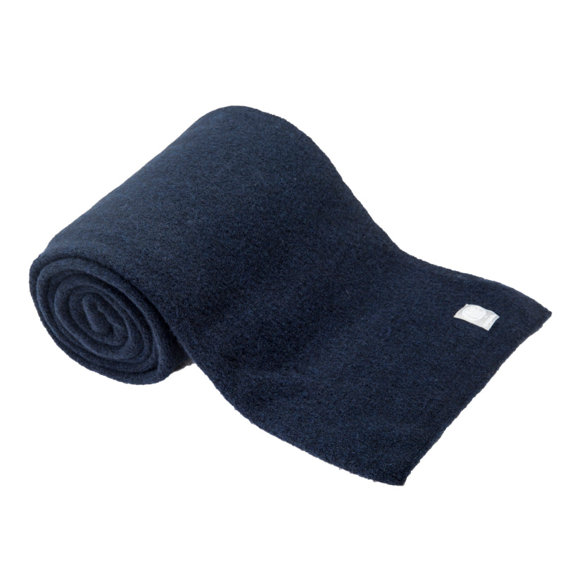 Wool Yak Wrap in Solid Navy