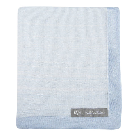 Yorkville Baby Blanket in Baby Blue