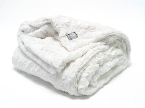 Ivory Bunny Throw