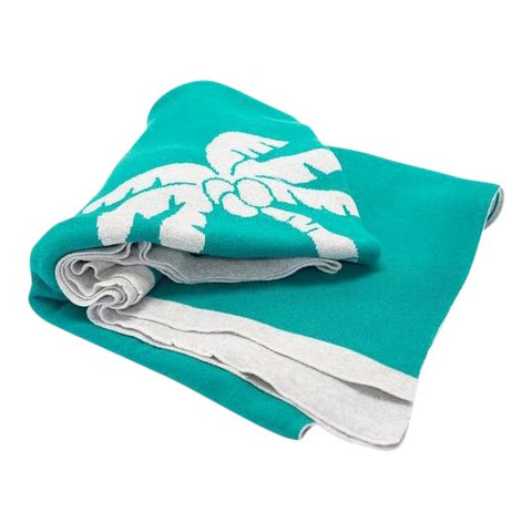 Palm Tree Coastal Throw