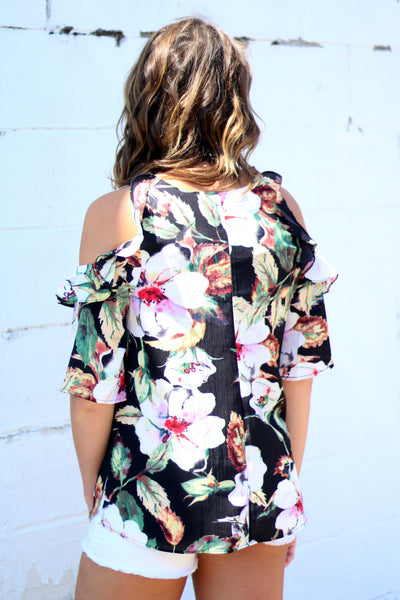 Think Tropical Top Back