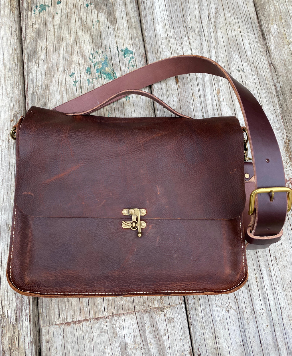Handmade Leather Bags, Messenger Bag
