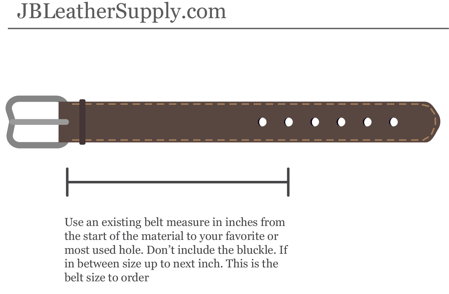 Handmade Leather Belts, Forever Belt