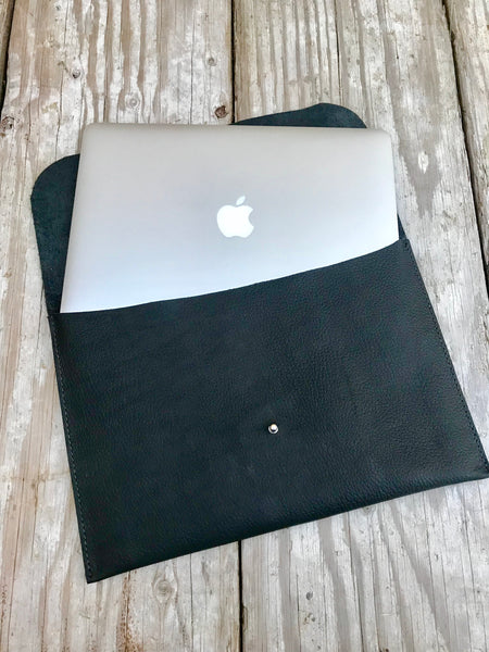 Handmade Leather Bags, Computer Sleeve - MacBook Air