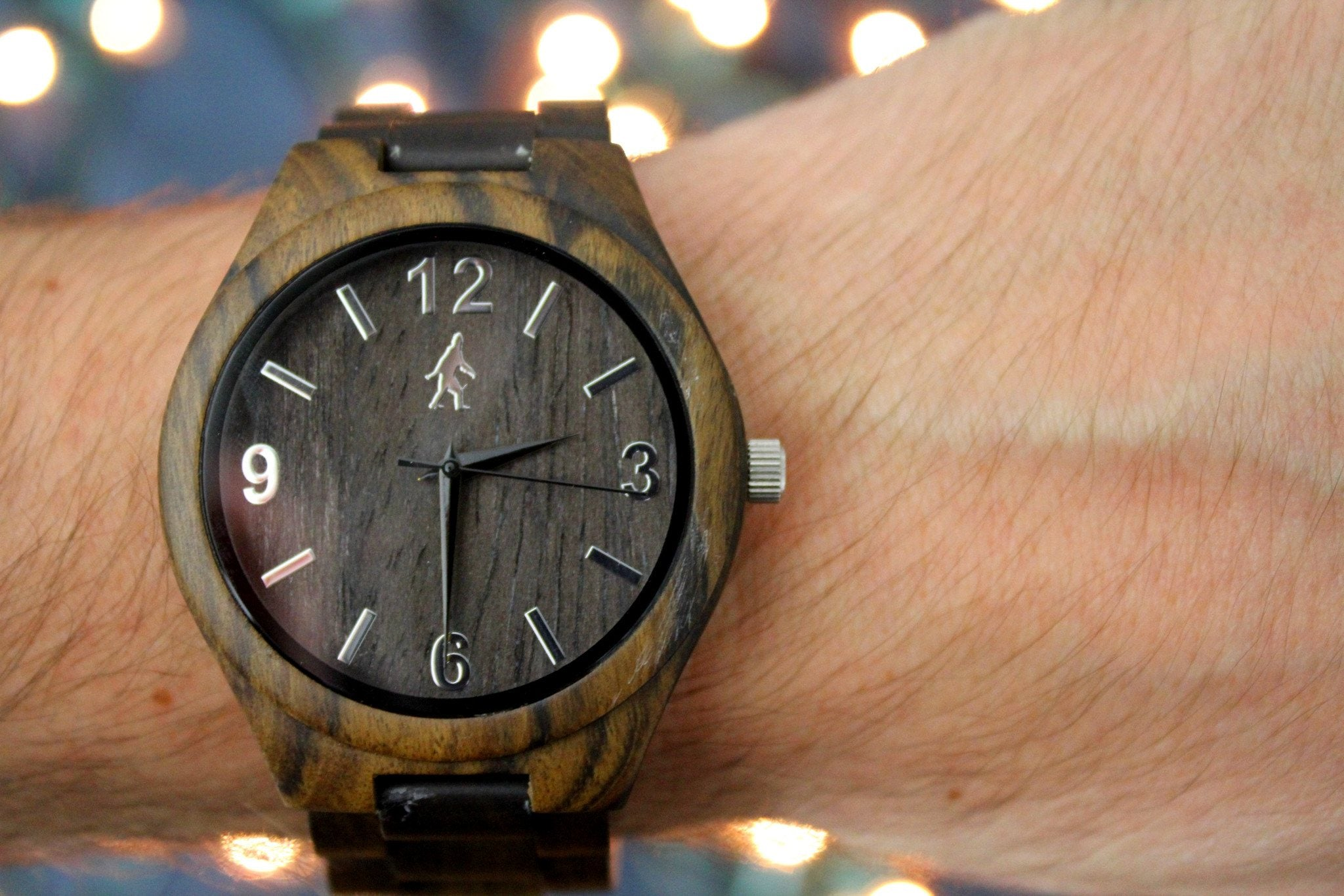 dark chocolate men s wooden watch giant yeti dark chocolate wooden watch giant yeti