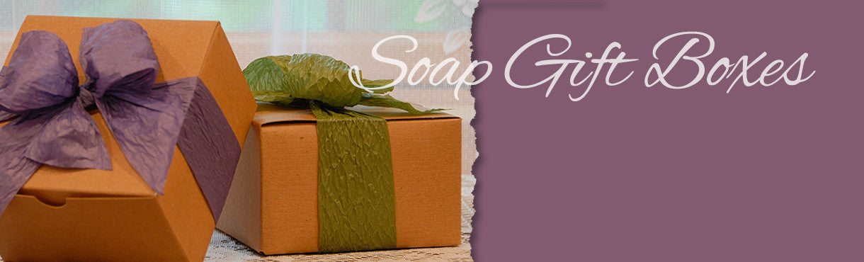 Hand Made Soap Gift Boxes