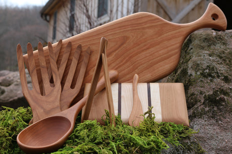 Wooden Spoons, Bread & Cheese Boards and Accents