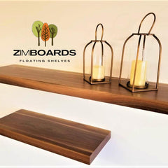 ZIMMER Furniture york frontiersmen bench and floating shelves