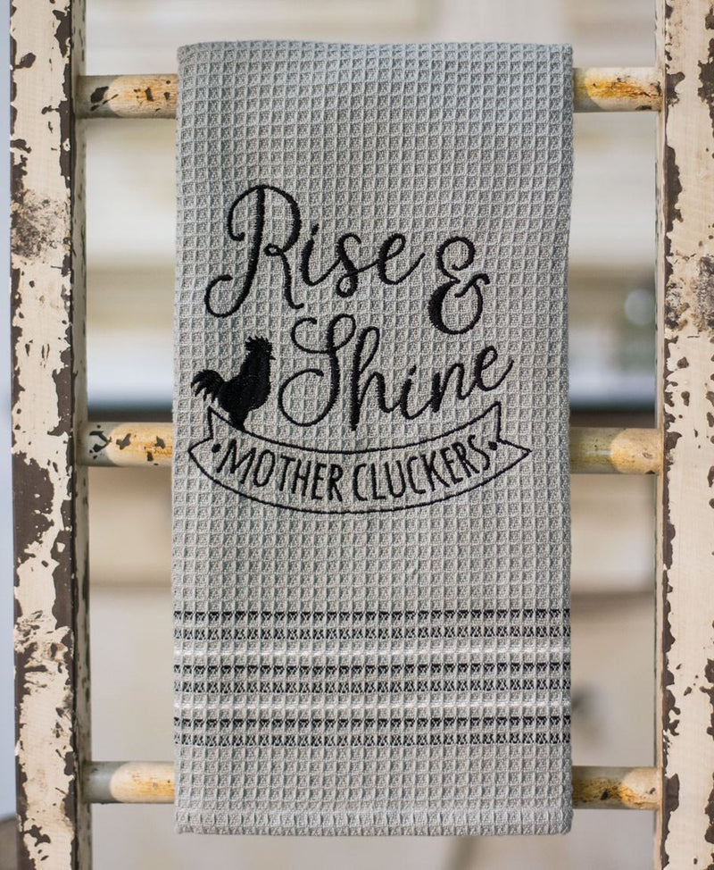 Dish Towel- Rise and Shine
