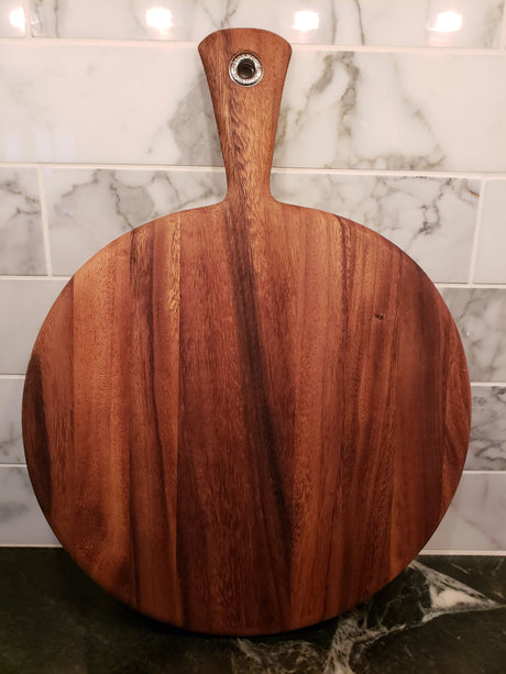 Round Paddle Serving Board