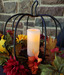 treasuredcountrygifts.com large iron pumpkin fall made in usa