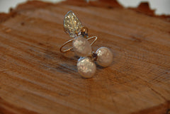 pearl ring adjustable