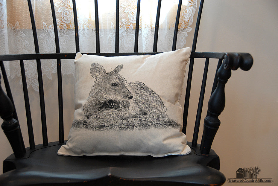 Decorative Pillow: Fawn