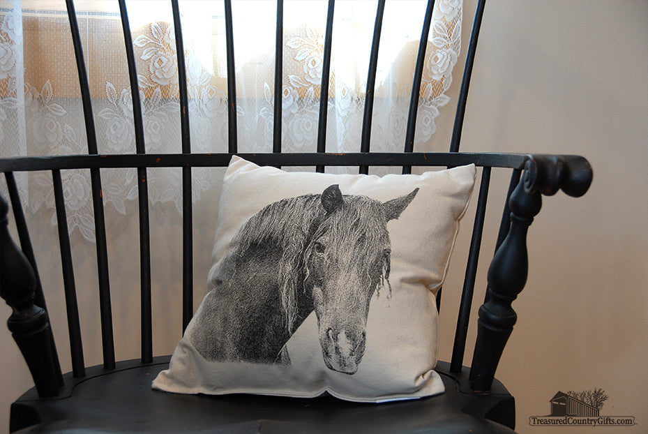 Decorative Pillow: Horse, Small