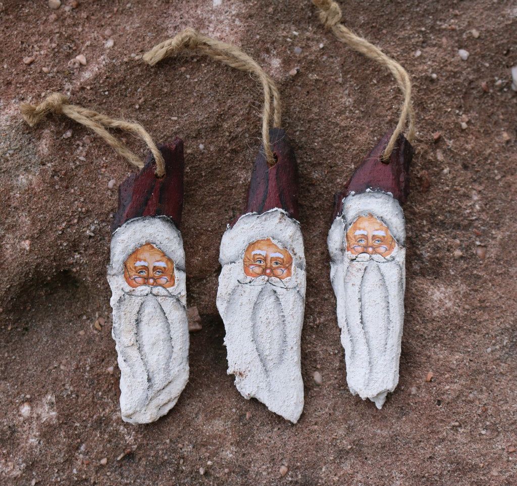 santa face ornament treasuredcountrygifts.com