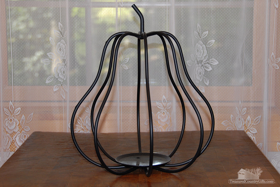 Ironware Candleholder: Pear, Large