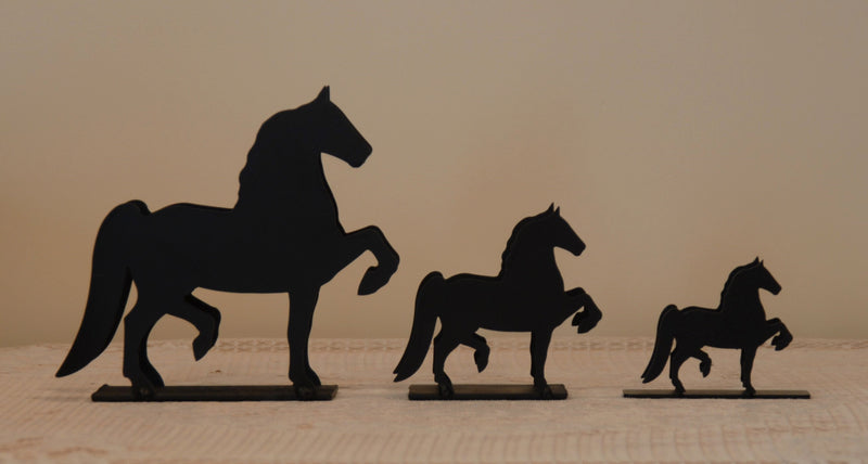 Ironware Letter / Napkin Holder: Horse, Large