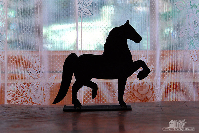 Ironware Letter Holder: Horse, Large