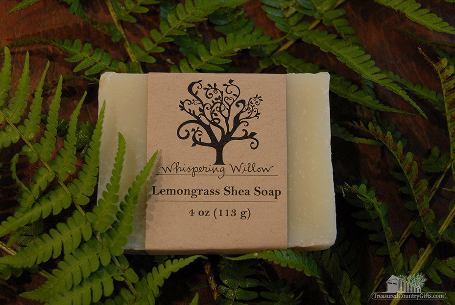 Natural Handmade Soap: Lemongrass Shea