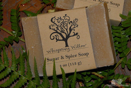 Natural Handmade Soap: Sugar & Spice
