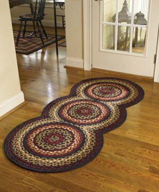 Folk Art Braided Rug TCG