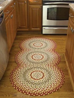 Mill Village Braided Rug TCG