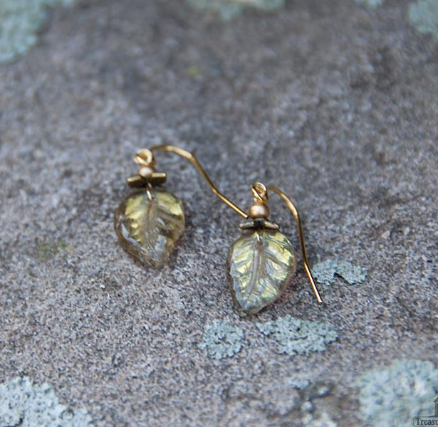 Leaf Handmade Earrings