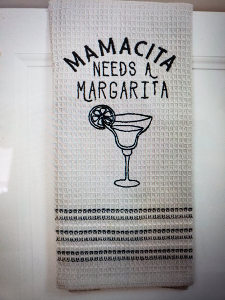 Dish Towel : Margarita treasuredcountrygifts.com
