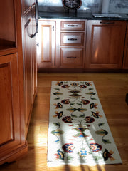 treasuredcountrygifts.com vine and blossoms rug runner