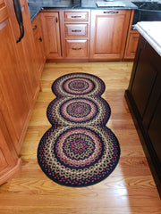 treasuredcountrygifts.com folk art braided runner rug