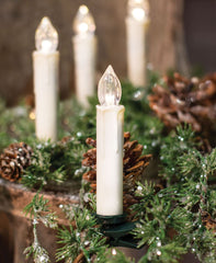 treasuredcountrygifts.com farmhouse clip on candles white