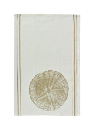 treasuredcountrygifts.com sand dollar dish towel