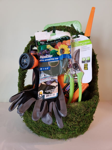 Large Gardener's Gift Basket for Men